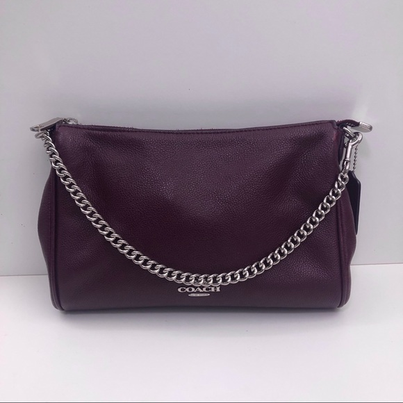 Coach Pebbled Leather Carrie Crossbody